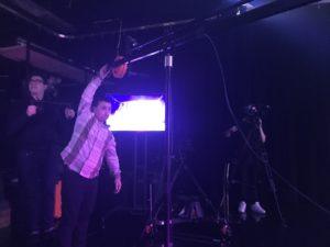 ECG Studio filming Indian Sounds of Canada