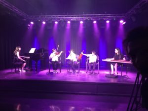 Students of Arabic Music School performing for Arabic Sounds of Canada