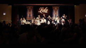 Filming Changui Havana Band live performance at Lula-club for Cuban Sounds of Canada