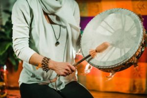 Indian Drum In Sound Therapy Yc63s9w